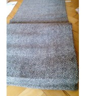 480 grams - Diamond weave wool cloth - 100% handspin ! Width 100 cm