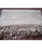 Blanket made from 100% handspin sheep wool thread