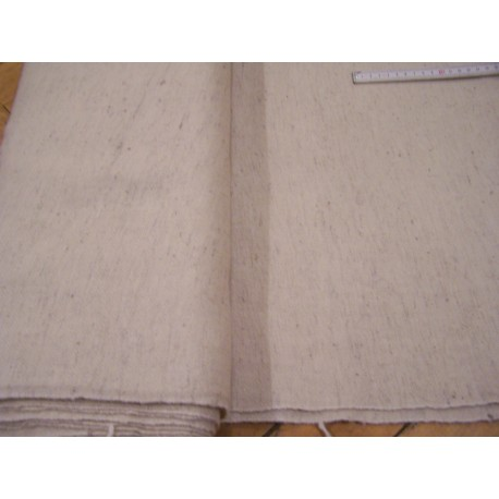 260 - 300 g  - Herringbone - handwoven wool cloth (20)