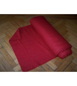 510 grams - Handwoven wool cloth dyed with Madder