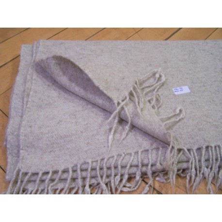 Blanket in Twill 2/1 - 412 grams - Natural off white colour (25)