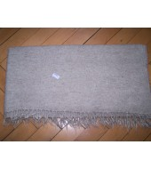 Blanket in Plain Weave - 368 grams - Natural Off White colour (25)