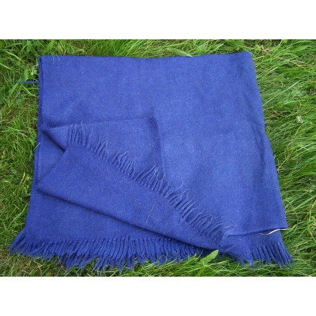 """Blanket""  from 100% hand spun sheep wool thread hand woven   (26)"