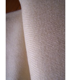 Twill 2/2 230 grams - off white fabric hand woven (30)