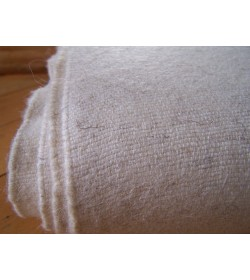 Plain weave 270 grams - off white fabric not only for natural dyeing (30)