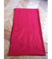 Twill 2/1 dyed Red - 270 grams - Handwoven wool fabric (29)