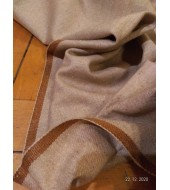 Twill weave 270 grams per meter - piece of hand woven wool fabric