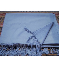 Scarf - Plain weave - 150grams  - Light blue colour