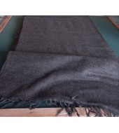 439 grams Twill 2/1 hand woven natural dark brown colour (32)