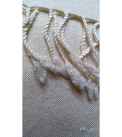 Twill 2/2 265 grams - off white fabric hand woven (33)