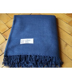 """""""Blue Blanket""""  from Twill 2/2 naturally dyed (33)"""